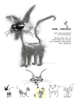 Mr. Meow by truncheonm