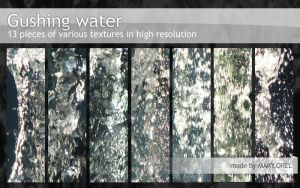 TEXTURES: Gushing Water by MAKY-OREL