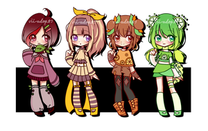 Fruit Adopts Batch [CLOSED] by vii-adopts