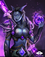 ...Commission: Draenei Shadow Priest II... by ShadowPriest