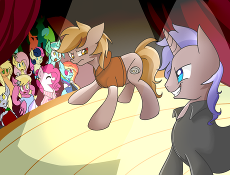 The Show [REQUEST] by PaperKoalas