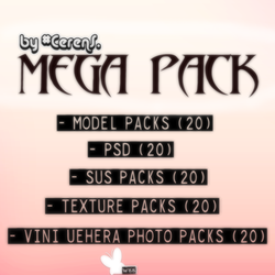 Mega Pack - WKK - by #CerenS. by Cerencero
