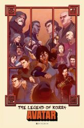 Avatar - The Legend of Korra by Pryce14
