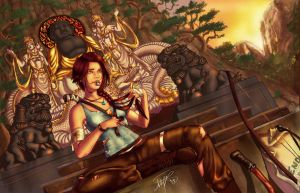 Lara's break by Vacqs