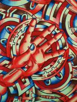HANDS OF TIME CROP 1 by L-A-K-ART