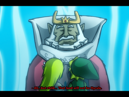 Farewell King of Hyrule by Angelstar7
