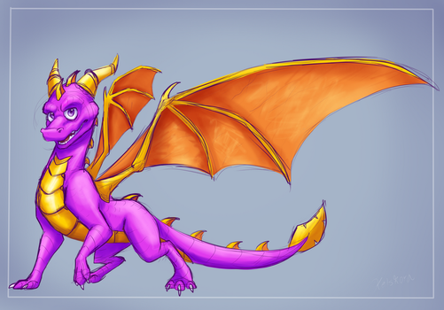 Dotd Spyro by Spyros-World