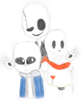 Skeletons by FiveNightsAtSnowys