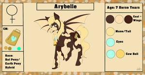 Arybelle {Reference Sheet+ Bio} by ScarletsFeed