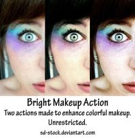 Bright Makeup Actions by sd-stock