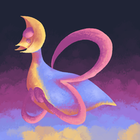 cresselia by haemorrhoid