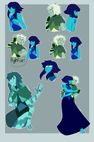 Lapis and Serpentine Doodles~! by ToastedFur