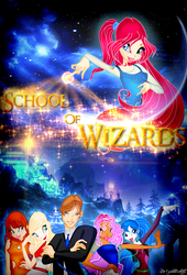 School of Wizards Cover by CrystaliteButterfly