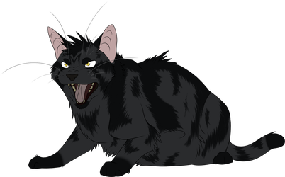 Warrior Cats #030 - Darkstripe by Kuroi-Hitsuji