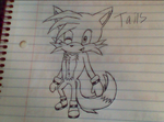 Chibi Tails? by xCrypticDreams