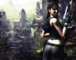 Lara Croft: Tomb Raider 01 by Halli-well