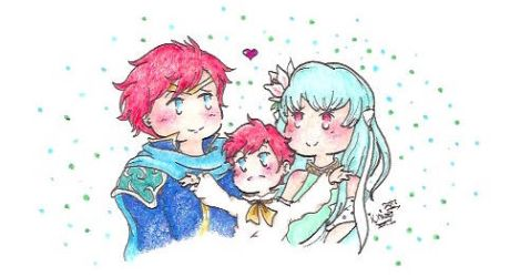 Eliwood, Ninian, and Roy Chibis by PinkDerpyUnicornz