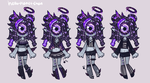 [outfit set] - Onyx-Diamond [3/3] by hello-planet-chan