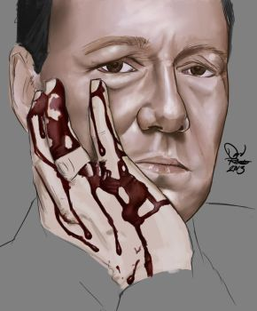 House Of Cards (wip) by DavidRobertsArt