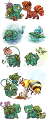 Bulbasaur by sharkie19