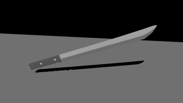 3D Knife by Chris000