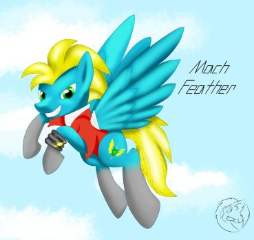 Mach Feather by ShimmerFur145