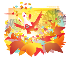 A Latias Among the Leaves