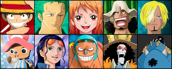 Strawhats crew by dDsign
