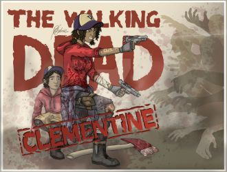 Clementine, The Walking Dead (All Grown Up) 2. by handraw