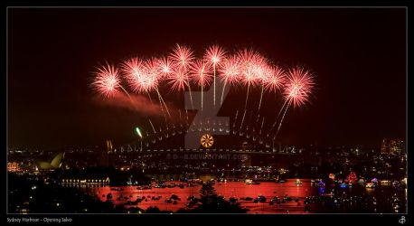 Sydney Harbour - Opening Salvo by d---b