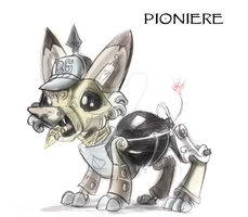 Pioner Dog by LytletheLemur