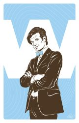 Doctor Who (Matt Smith) by gravitydsn
