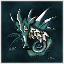 Pokemon of the Week - Seadra by Noyle