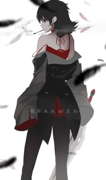 Branwen by dishwasher1910
