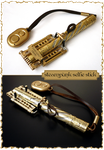 Steampunk selfie stick by 42RUS