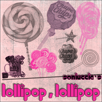 Lollipop,lollipop brush set .. by soniuccia
