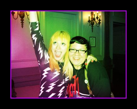 Chantal Claret and Me by GothyLox