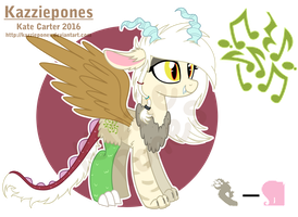 Cacophony - MLP OC Auction! by Kazziepones