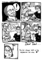 father's day by bellechevalier