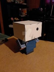 Jason Voorhees Part 2 CubeeCraft by SuperVegeta71290