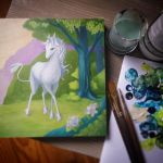 Commission of the Last Unicorn by little-lina