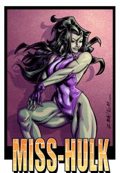 miss hulk colo by axlreznor