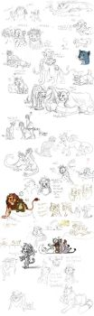 Sketchdump of 2013 Part 7 by timba