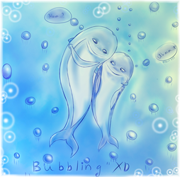 Bubbling XD by gilbert235
