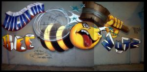 King Bee in the Bronx by writers-bench
