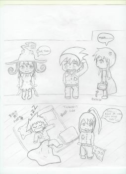 Soul Eater Chibis! by BlueCrew