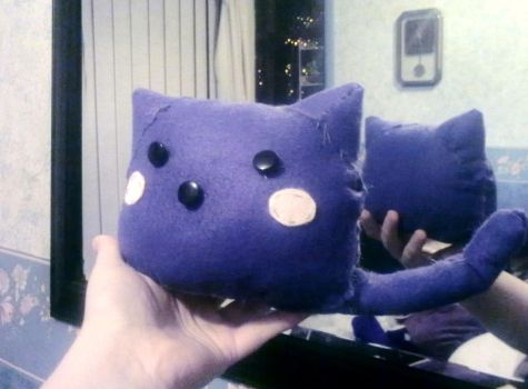 Blob Cat Plush by Brokensoul1987