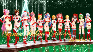 MMD Santa Bikini Editions DL (UPDATED) by Murabito124