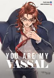 Granblue Fantasy Percival x megane x suits by darkn2ght