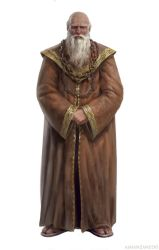 Grand Maester Pycelle by Manzanedo